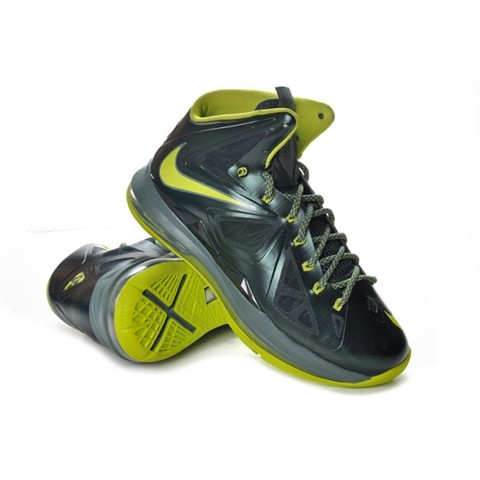 nike-lebron-10-dunkman-black-green-shoe-cheap