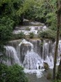 Huay Mae Khamin Waterfall, Kanchanburi, Thailand