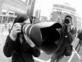 Big Canon lens