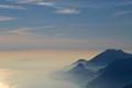 Deep blue of Lake Garda