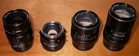 Manual Lens Line-Up