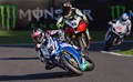 Competition for the British Superbikes Title at Cadwell Park