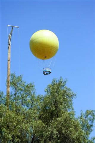 Balloon ride at San Diego Wild Animal Park