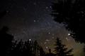 Jupiter Sirius and Betelgeuse, Orion Rising