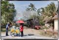 Seller on wheels - Railway Catering in Java