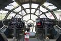 Flight deck of FiFi, the only remaining operational B-29.