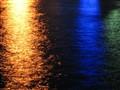 Karlobag Street lights reflection