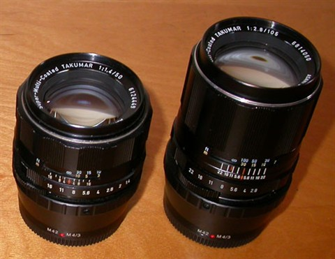 Pentax SMC Takumar Lenses