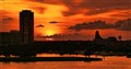 4th of July 2012 Sunset, St Petersburg Fl USA