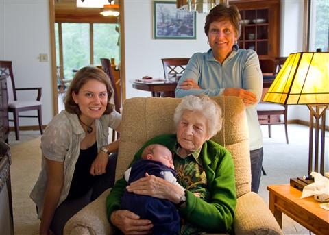 Four generations 5x7