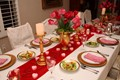 Valentine's Dinner Table