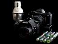 Some cameras and cristal balls