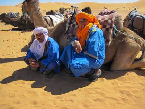 Blue Men - Morocco