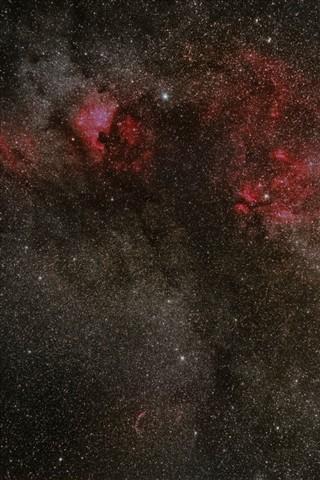 NA and Veil Nebulae