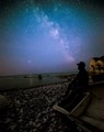 milky way at isle off wight