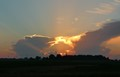 hole in a cloud