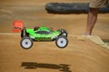 kyosho mp9  in mid air
