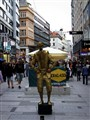 Street artist in Viena