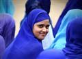 The Muslim girl