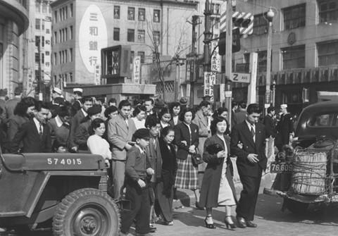 Tokyo, Ginza and Z, circa 1951