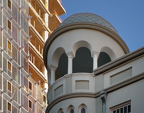 New, & old in Tel Aviv