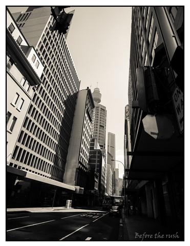 Early Morning Sydney