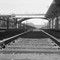 Railroad tracks 1953: Taken in the Bronx NY