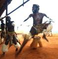 Leaping Zulu Dancer