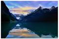 Lake Louise at dawn