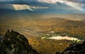 View from grandfather mountain in NC