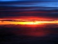 Clouds in theunset above Slovenia