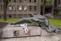 Horizontal Statue - Kaunas, Lithuania