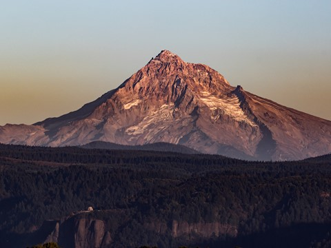 Bare Mt Hood & Crown Point