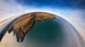 Lunan Bay and Boddin Point - Scotland