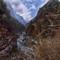 between Phakding to Namche Bazaar - Nepal - Everest Base Camp - April 2017