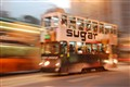 Sugar Splash - a Hong Kong tramcar.