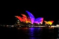 Ever changing colours of the Sydney Opera House during the VIVID Festival.  Here is the link to the Time Lapse... https://flic.kr/s/aHskXBH1MK