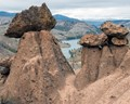 Balancing rocks, Central Oregon