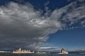 Bad Weather over Mono Lake, California