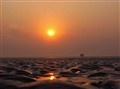 DAWN at Chandipur, orissa , south-east India