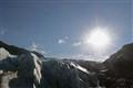 exit glacier sun