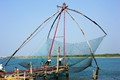 Chinese fishing nets in Kerala, India