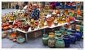 Pottery seller