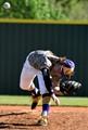 High school pitcher