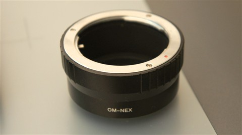 Nex- Olympus OM adapter