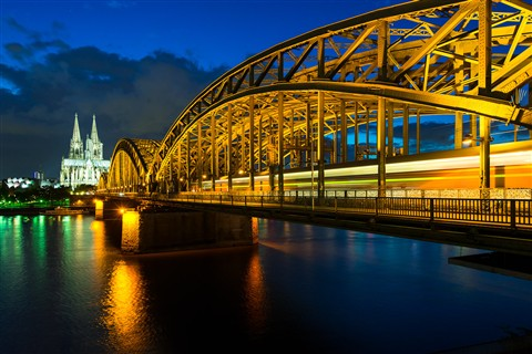 Koln at night