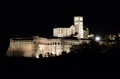 Basilica of St. Francis of Assisi by night