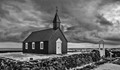 The Buðir black church in Iceland