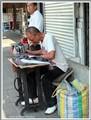 Street taylor in Bangkok