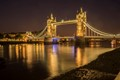 Tower Bridge at spring night